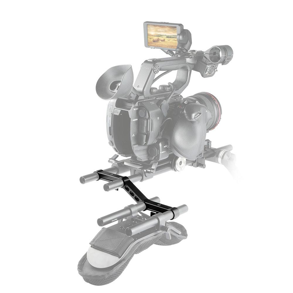 SmallRig Offset Raiser for 15mm Rod Clamp DSLR Rig Rail Camera 1031