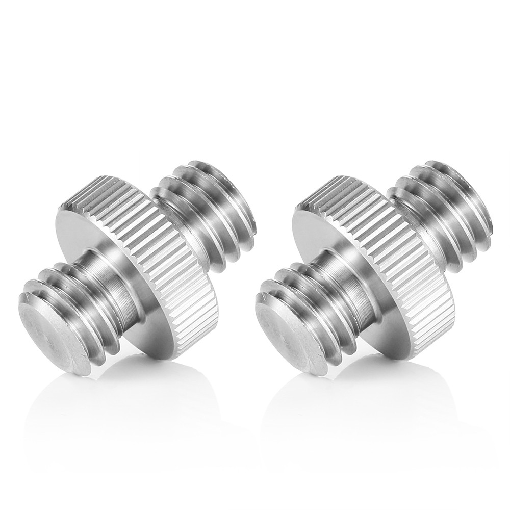 "SmallRig Double Head Stud 2pcs pack with 3/8"" to 3/8"" thread 1065"