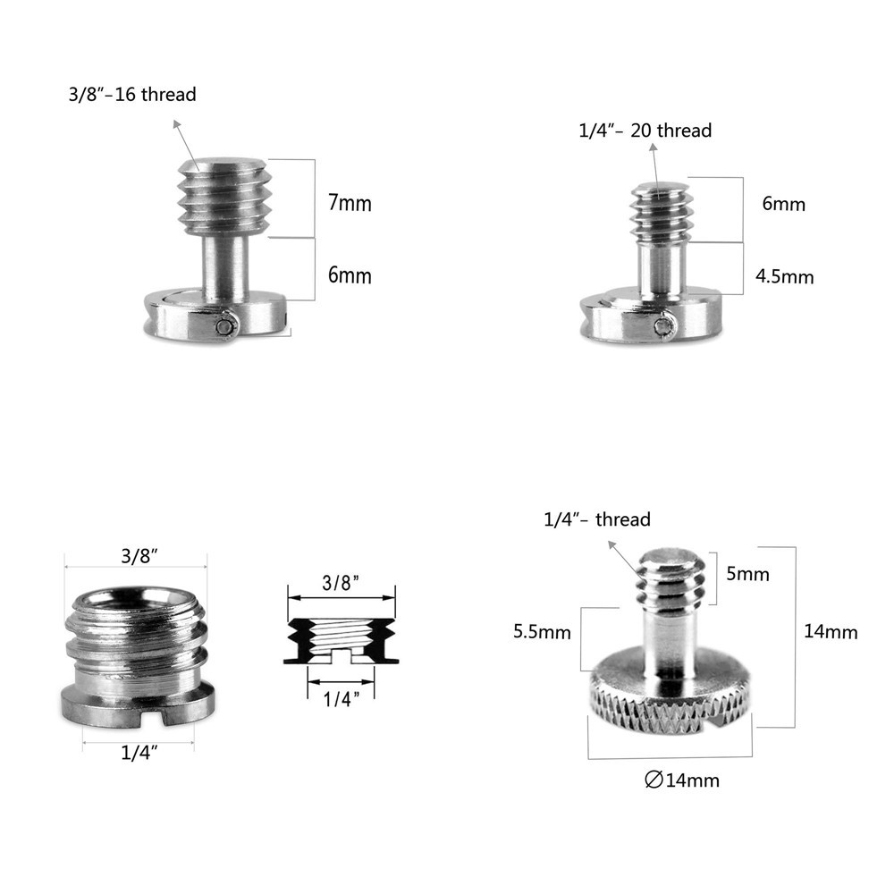 SmallRig Screw Pack (8pcs) 1074B
