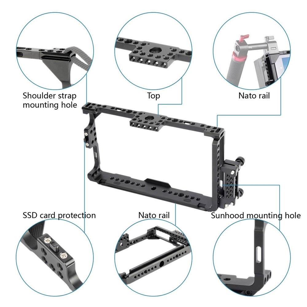 SmallRig Monitor Cage for Atomos Shogun/Ninja Assassin 1788