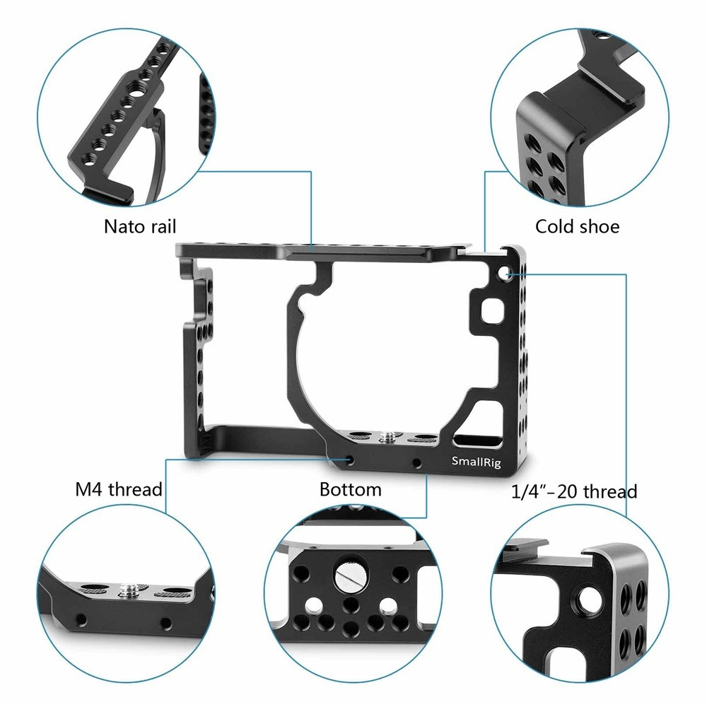 SmallRig Camera Cage for Panasonic Lumix DMC-GX85/GX80/GX7 Mark II 1828
