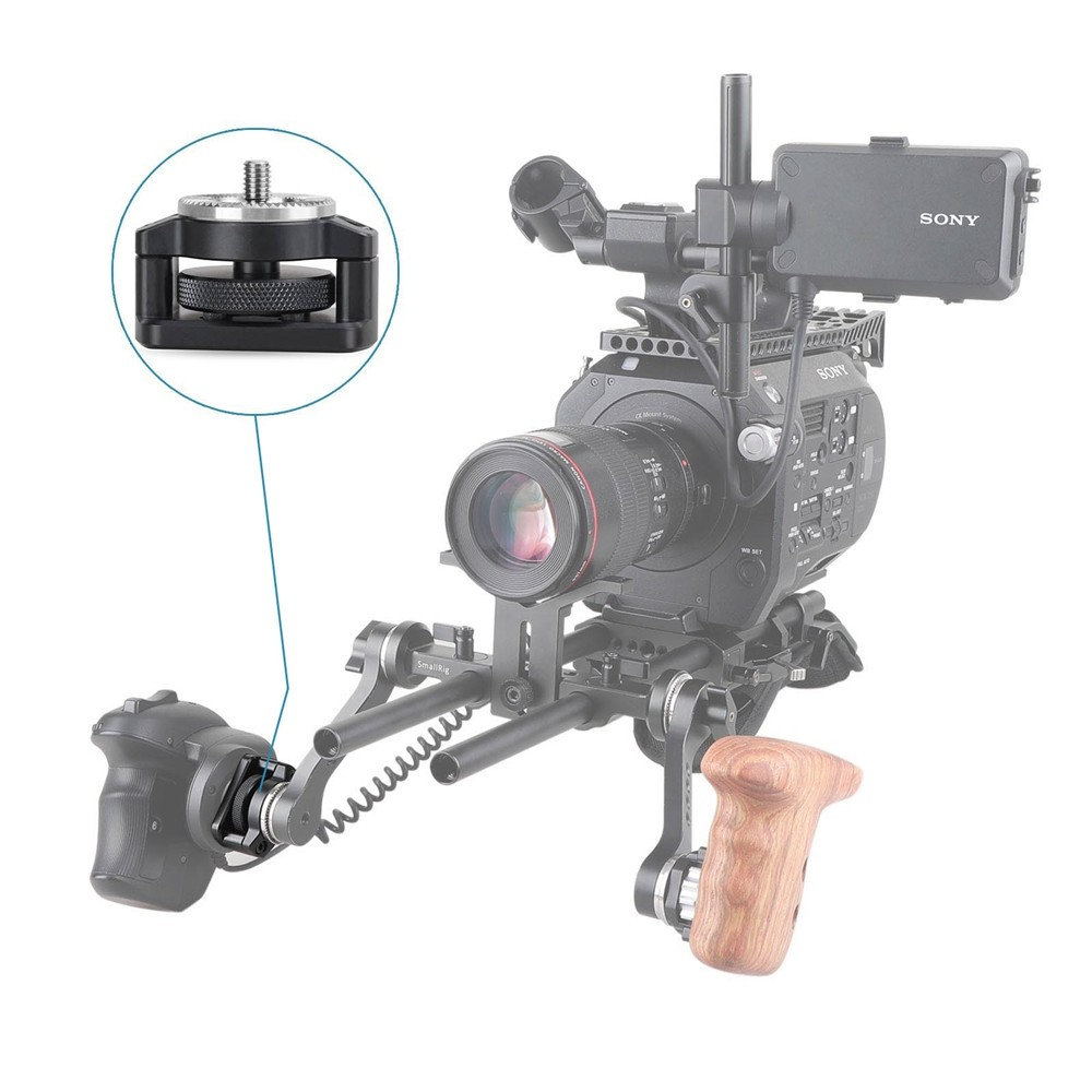 SmallRig Handgrip Rosette Adapter for Sony PXW-FS7/FS7II 1887B