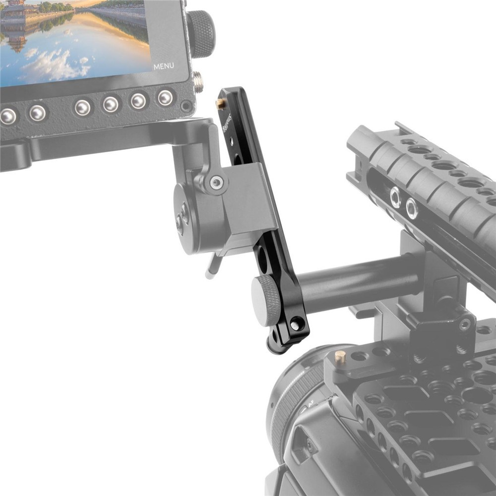 "SmallRig Safety NATO Rail (4"") with 15mm Rod Clamp 1910"