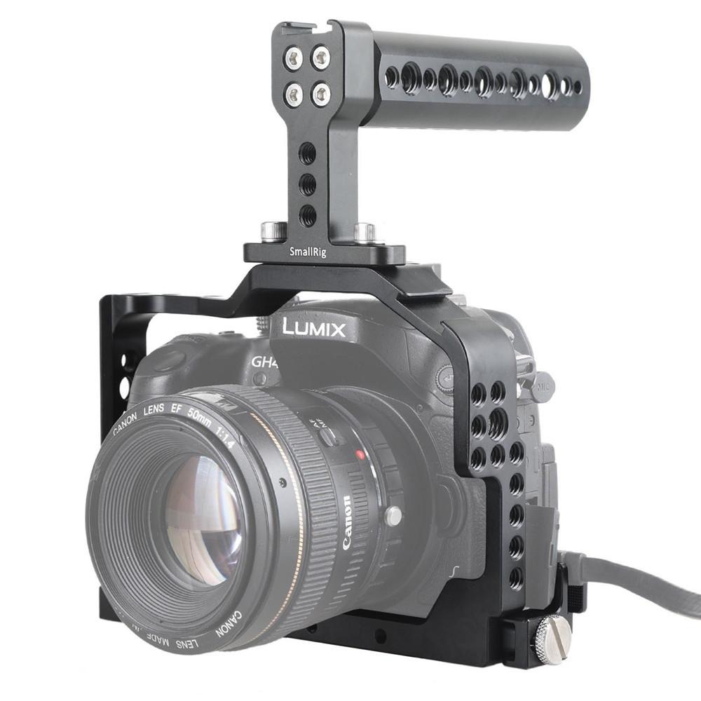 SMALLRIG Camera Cage for Panasonic DMC-GH4/GH3 1980B
