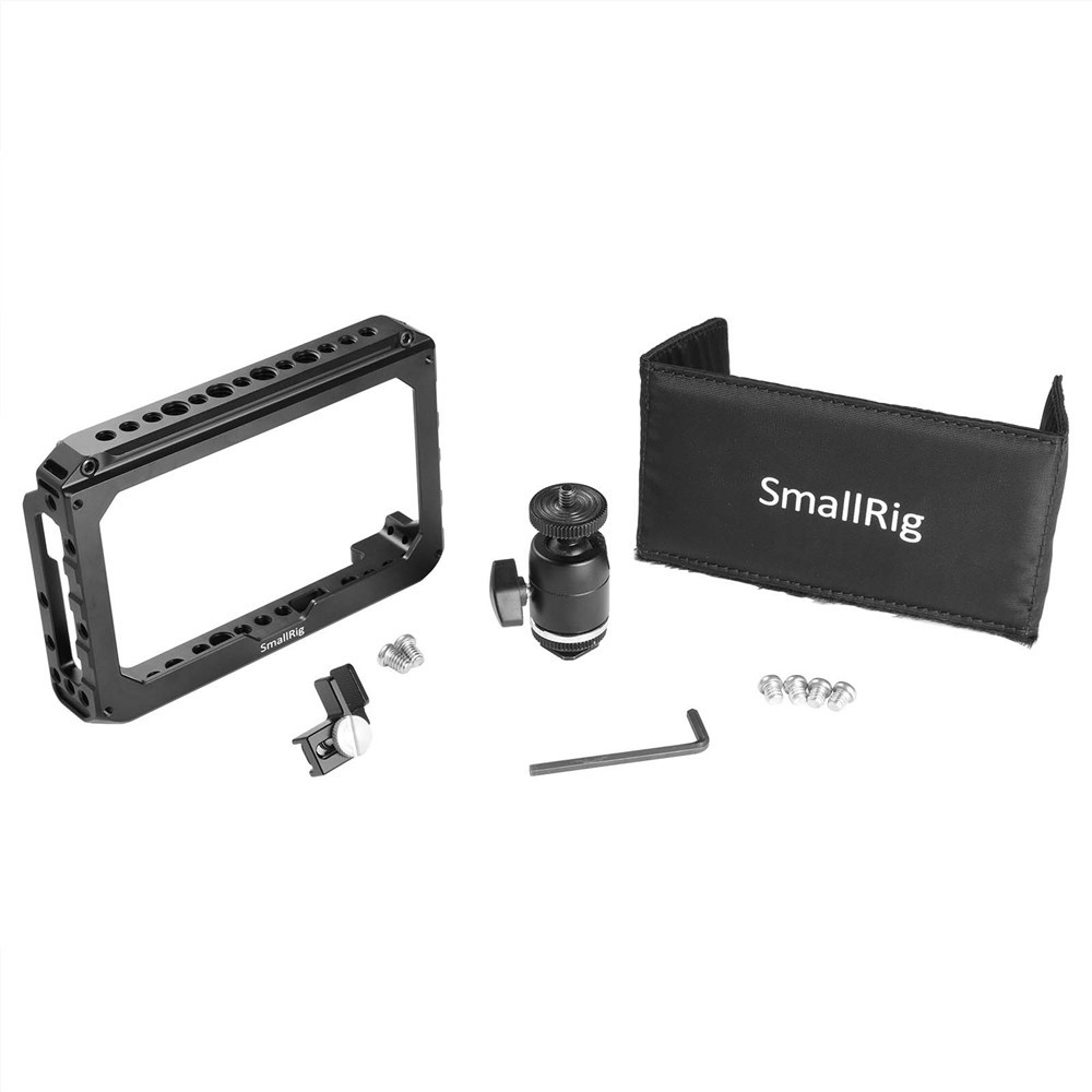 "SMALLRIG 5""Monitor Cage Accessory Kit for Blackmagic Video Assist 1981"