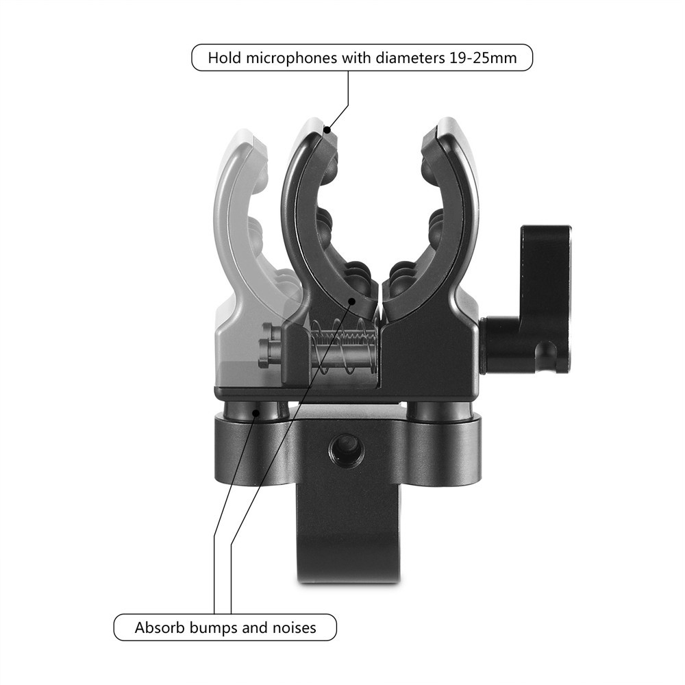SmallRig Universal Shotgun Microphone Mount 1993