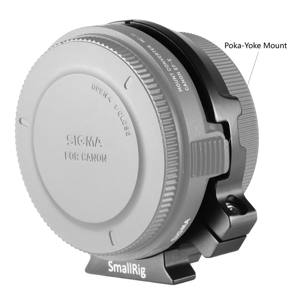 SmallRig Lens Adapter Support for Sigma MC-11 2063