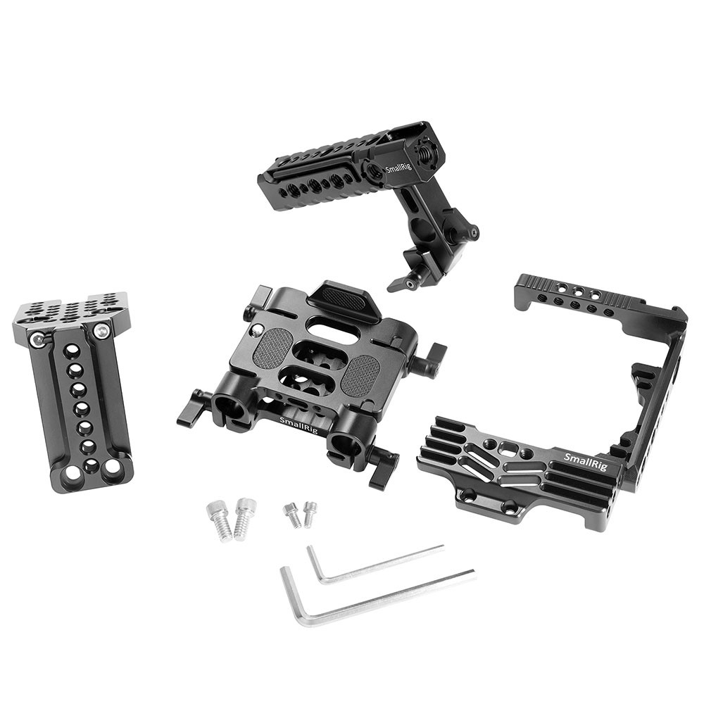 SmallRig Ultimate Half-cage Kit for Panasonic Lumix GH5 with Battery Grip 2067B