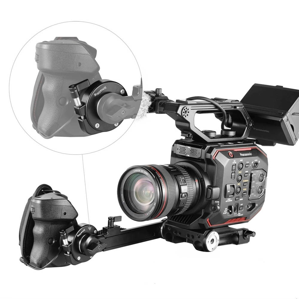 SmallRig Panasonic EVA1 Handgrip Adapter with ARRI Rosette 2137B