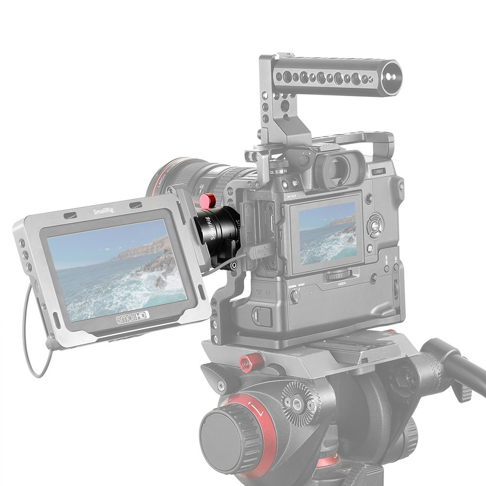 SmallRig Dual Rotating Nato Clamp EVF Mount 2141