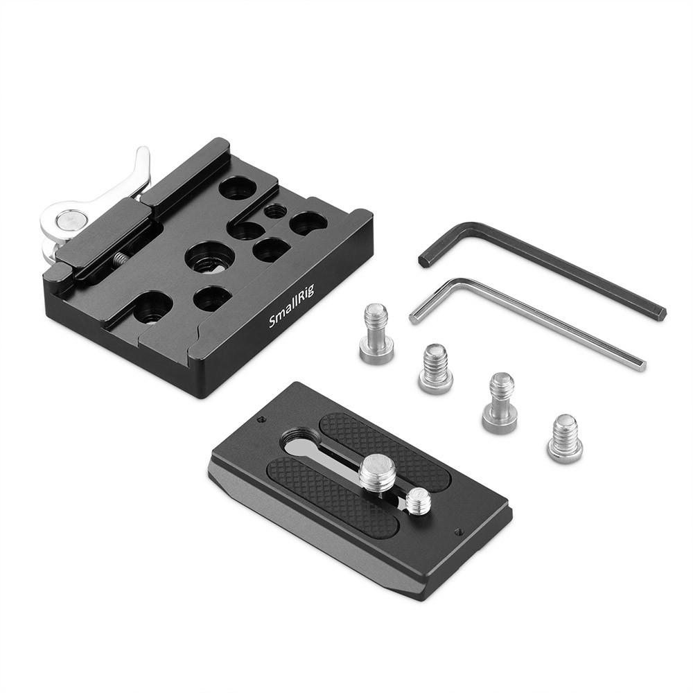 SmallRig Quick Release Clamp and Plate ( Arca-type Compatible) 2144B
