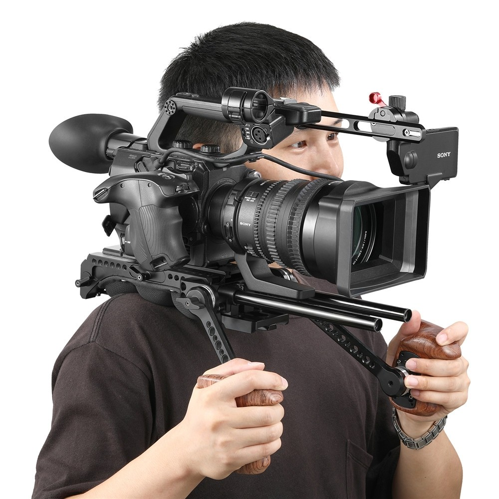 SmallRig EVF Extension Arm for Sony FS5 and Panasonic EVA1 2200