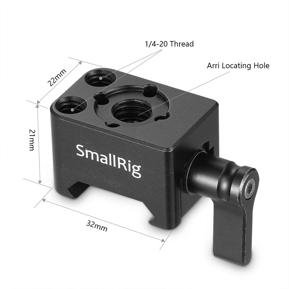 "SmallRig Nato Clamp Mount with Arri 3/8""Hole 2207"