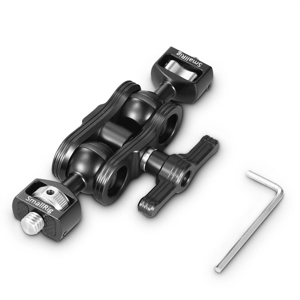 "SmallRig Magic Arm with Double Ballheads (1/4"" and 3/8"" Screws) 2212B"