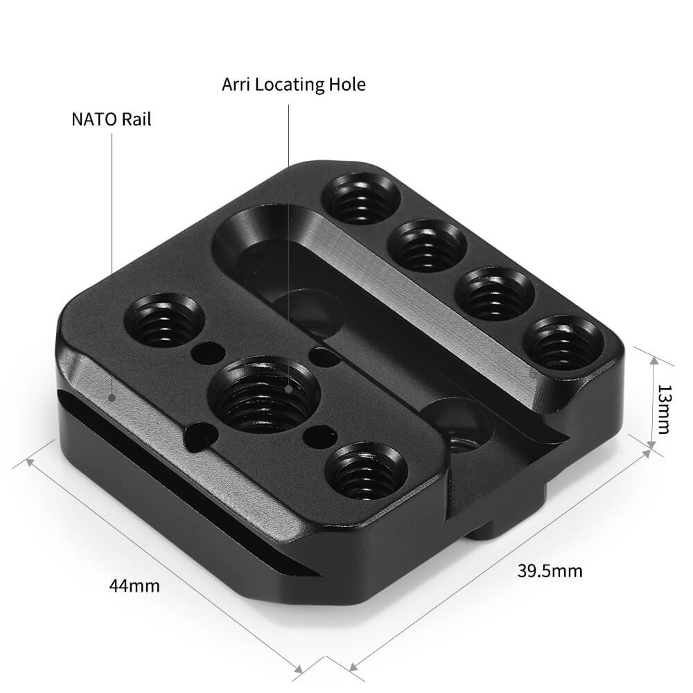 SmallRig Mounting Plate for DJI Ronin-S/SC and RS 2/RSC 2 Gimbal(2pcs)2234B