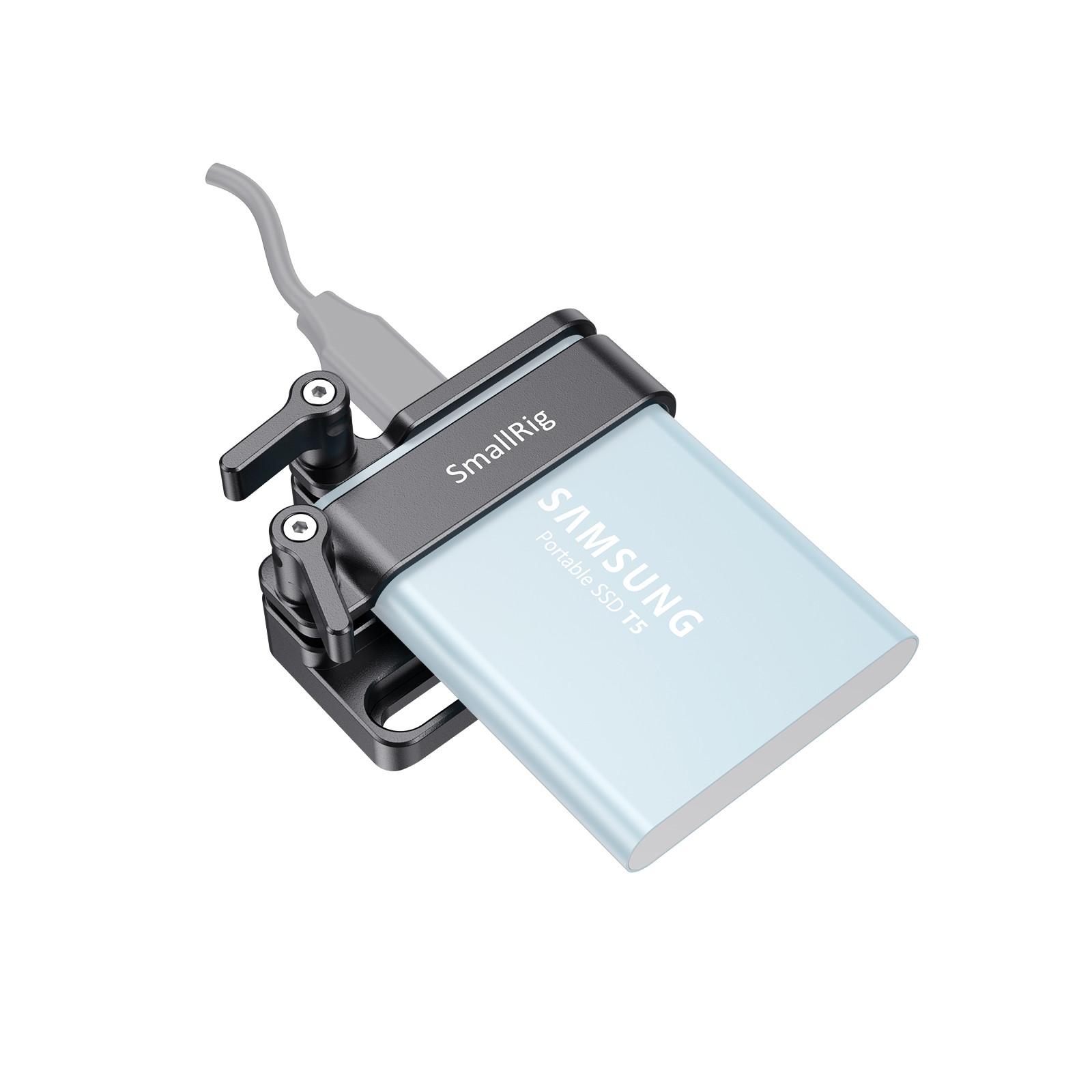 SmallRig Samsung T5 SSD Mount (New Version) 2245B