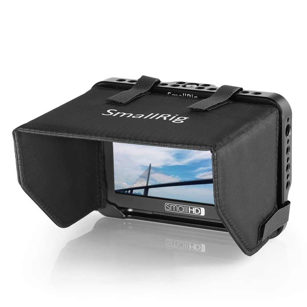 """SmallRig Monitor Cage with Sunhood for SmallHD Focus Series 5""""monitor 2249"""