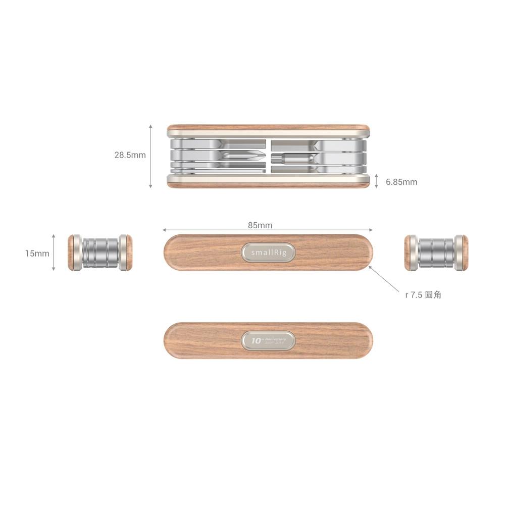 SmallRig 10-Year Anniversary Edition Folding Screwdriver Kit TC2400