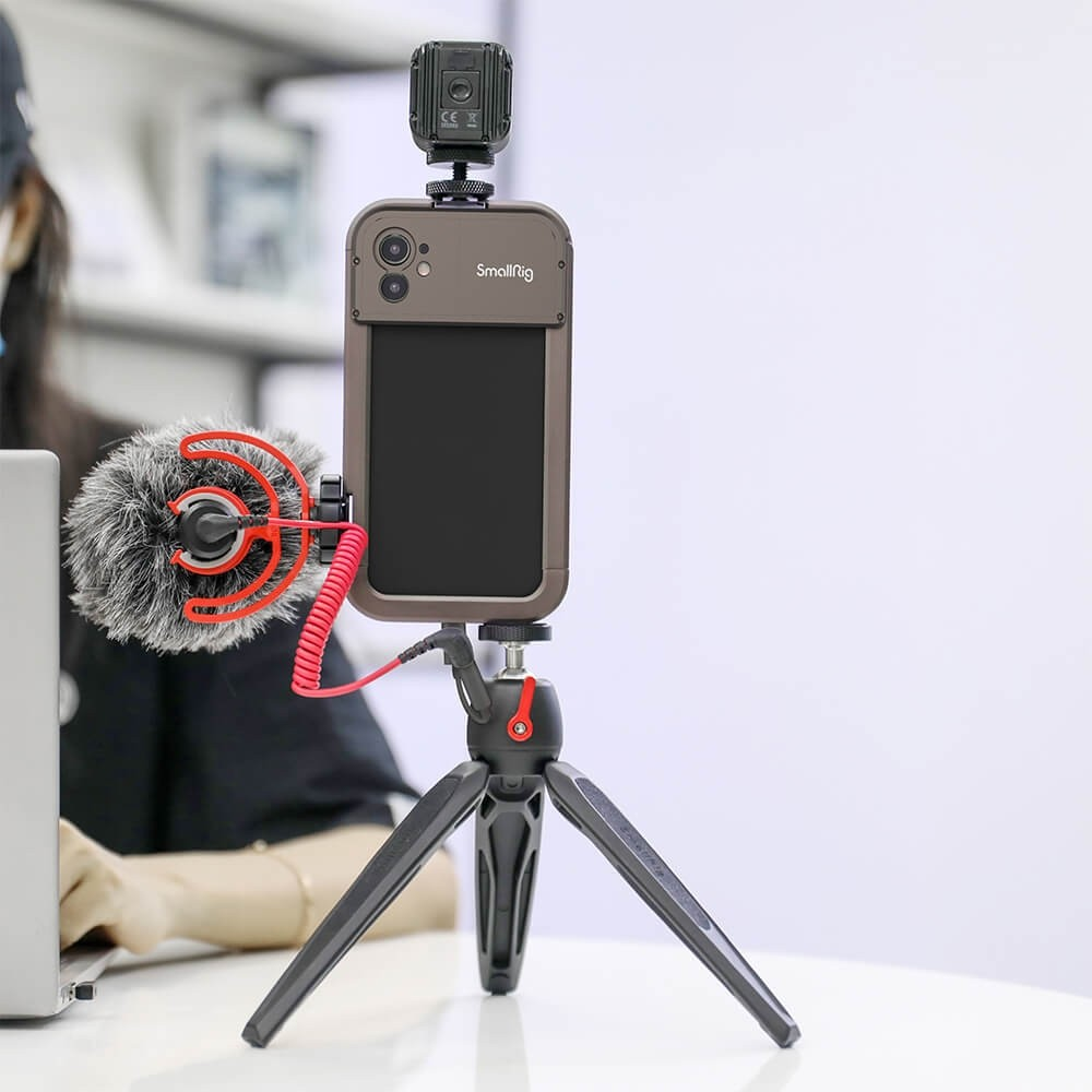 SmallRig Pro Mobile Cage for iPhone 11 (17mm threaded lens version) 2773
