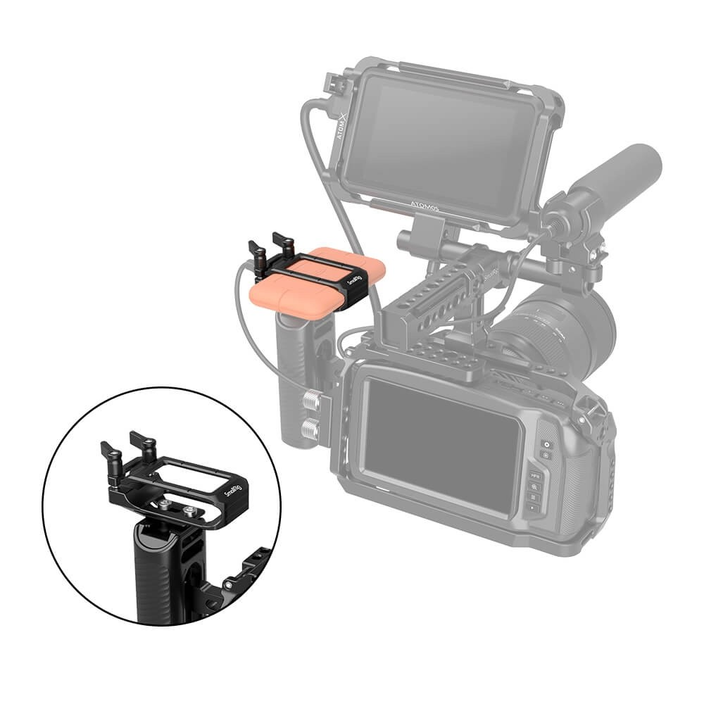 SmallRig Mount for LaCie Rugged SSD 2814
