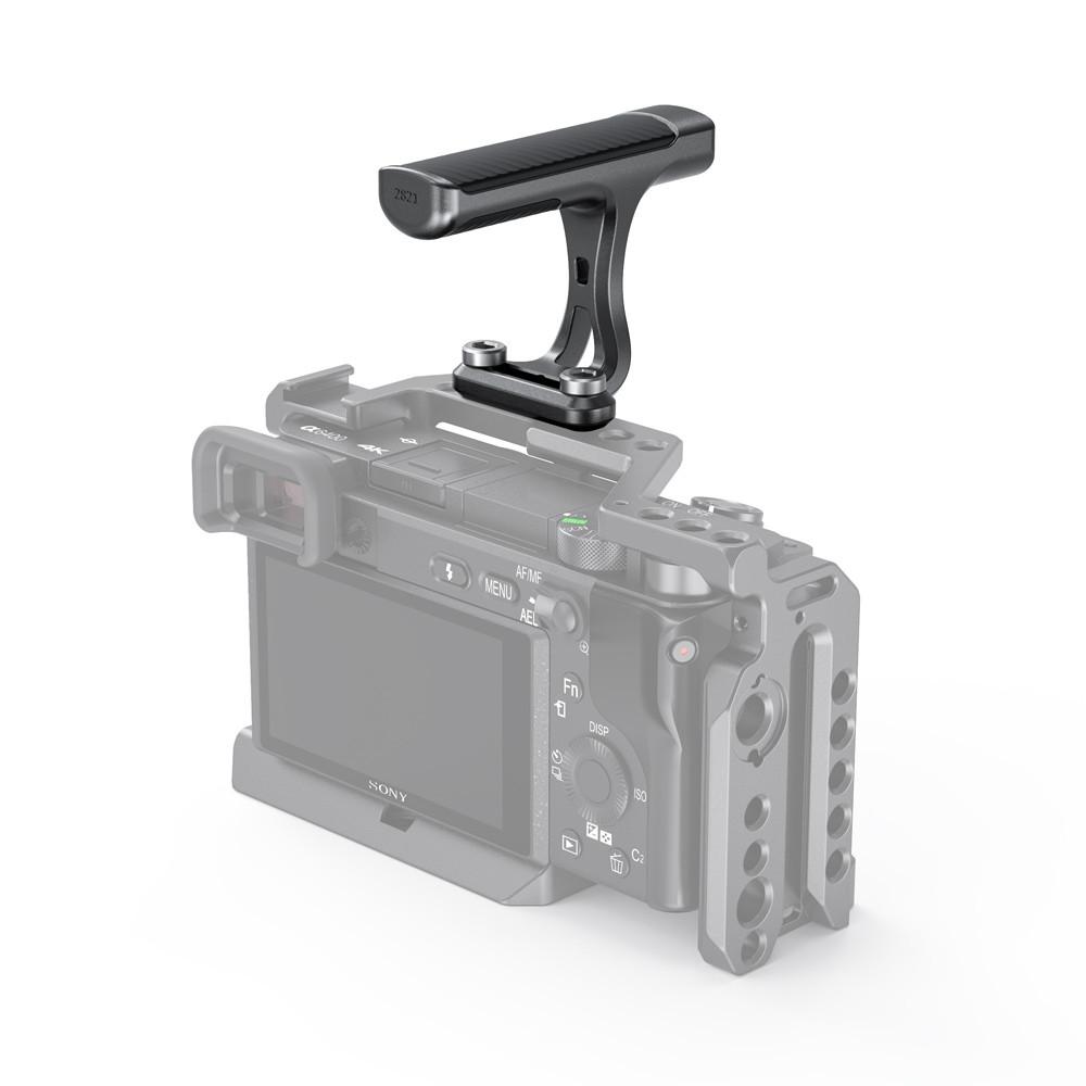 "SmallRig Mini Top Handle for Light-weight Cameras (1/4""-20 Screws) 2821"