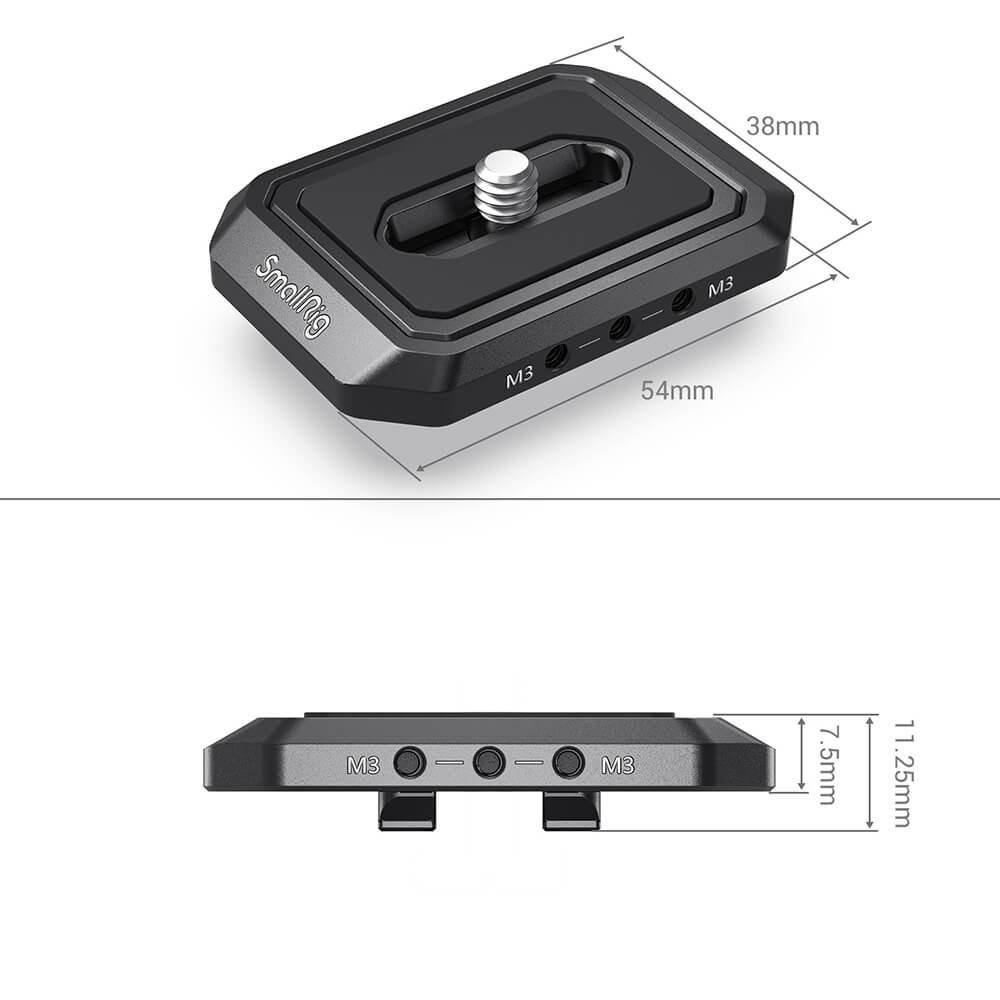 SmallRig Camera Riser Plate for Moza AirCross 2 2827