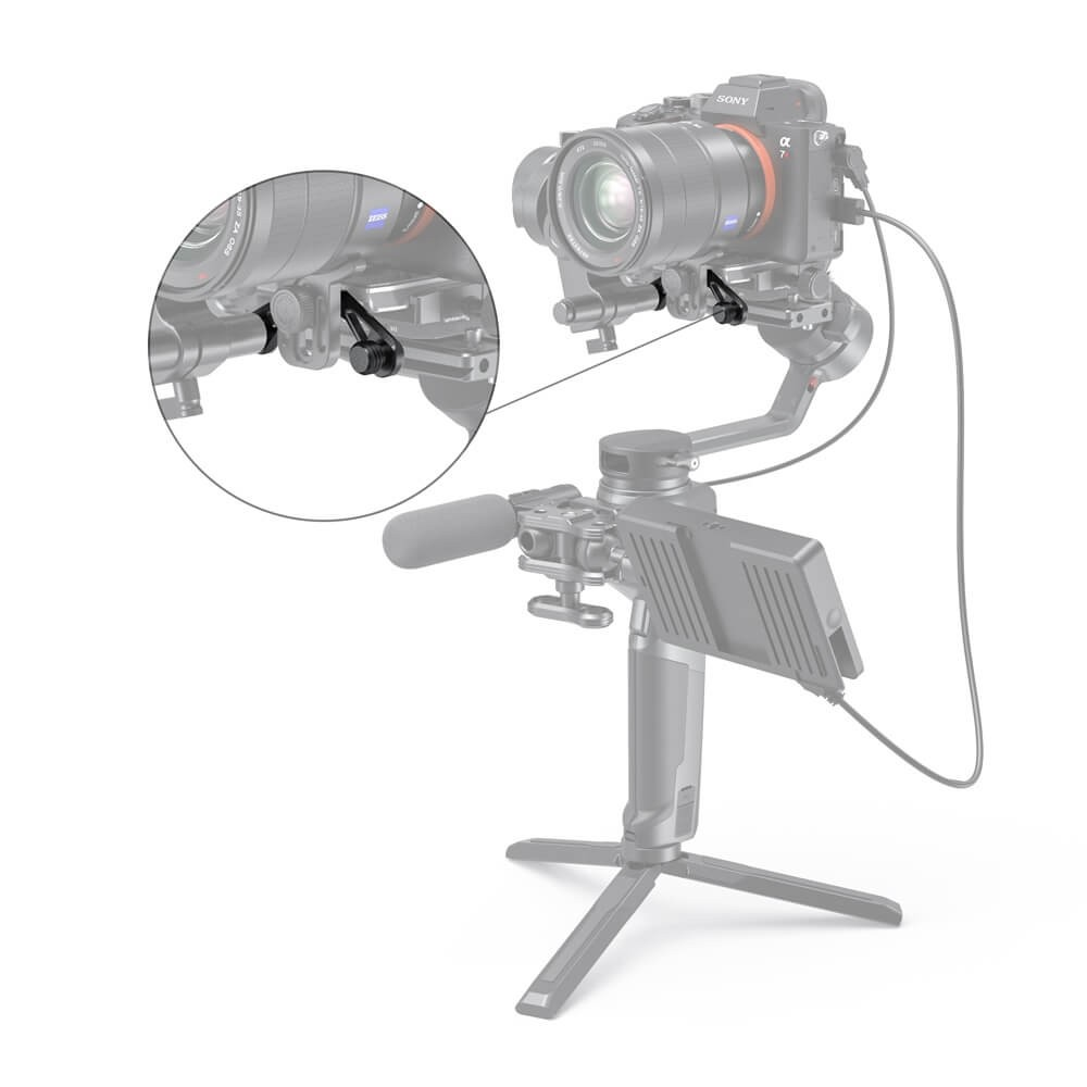 SmallRig Focus Motor Rod Mount for Moza AirCross 2 2828
