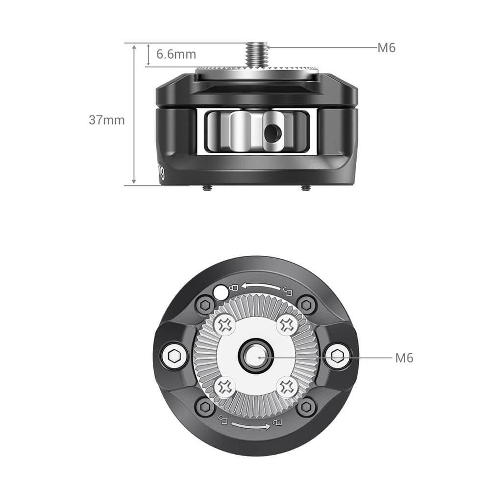SmallRig Handgrip Rosette Adapter 2831 for SONY FX9