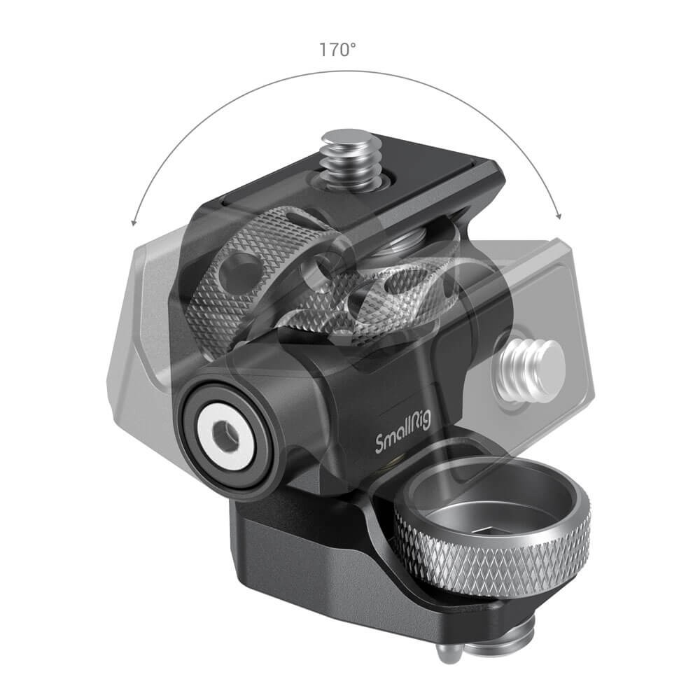 SmallRig Swivel and Tilt Adjustable Monitor Mount with ARRI-Style Mount 2903