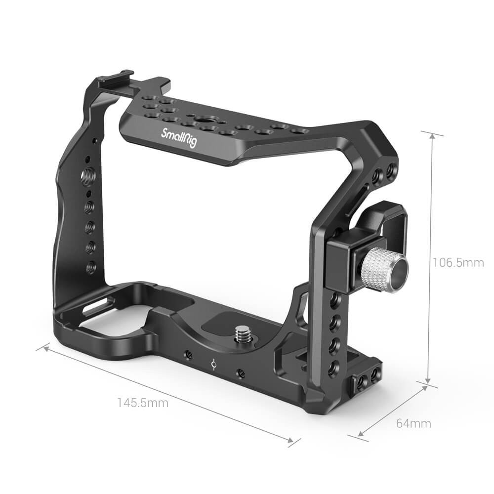 SmallRig Cage for SONY Alpha 7S III & HDMI Cable Clamp 3007