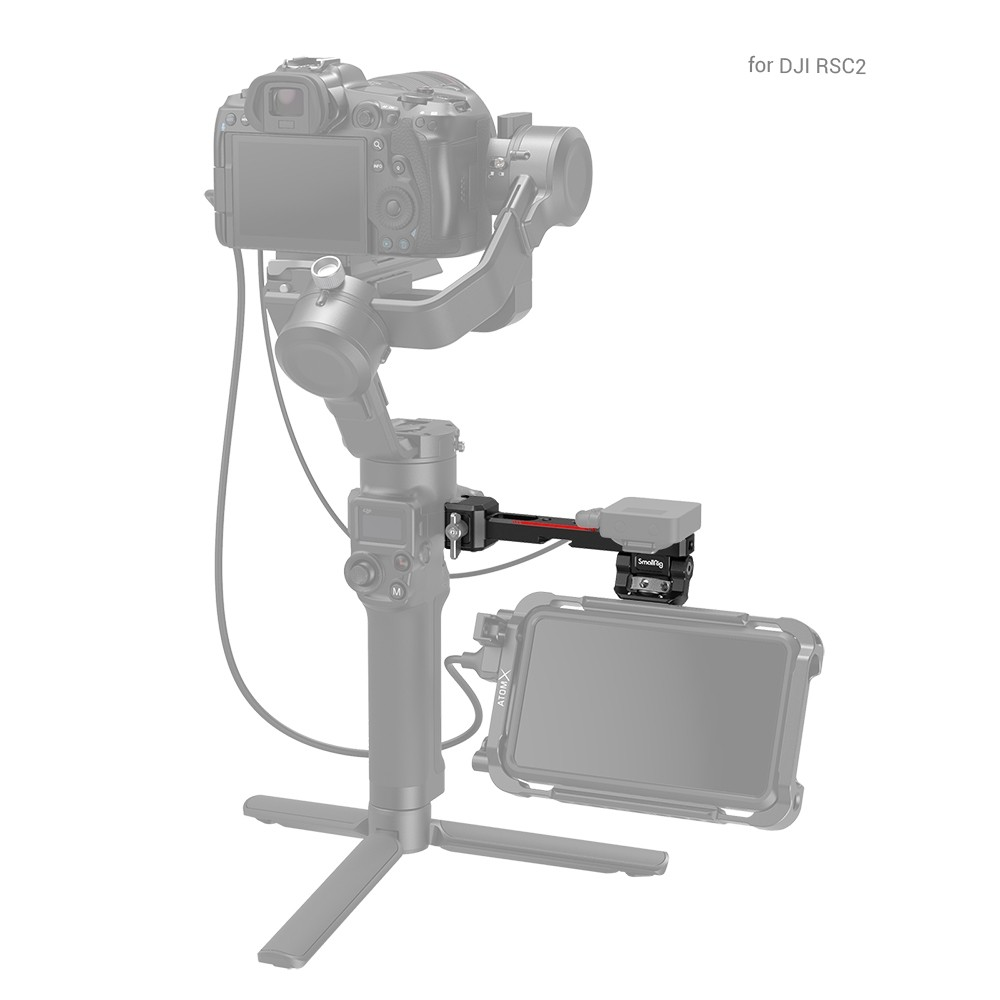 SmallRig Monitor Mount with NATO Clamp for DJI RS 2/RSC 2 3026