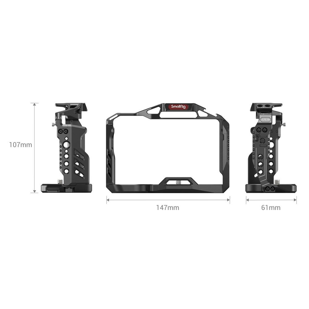 SmallRig Camera Cage for Sony Alpha 7S III 3065