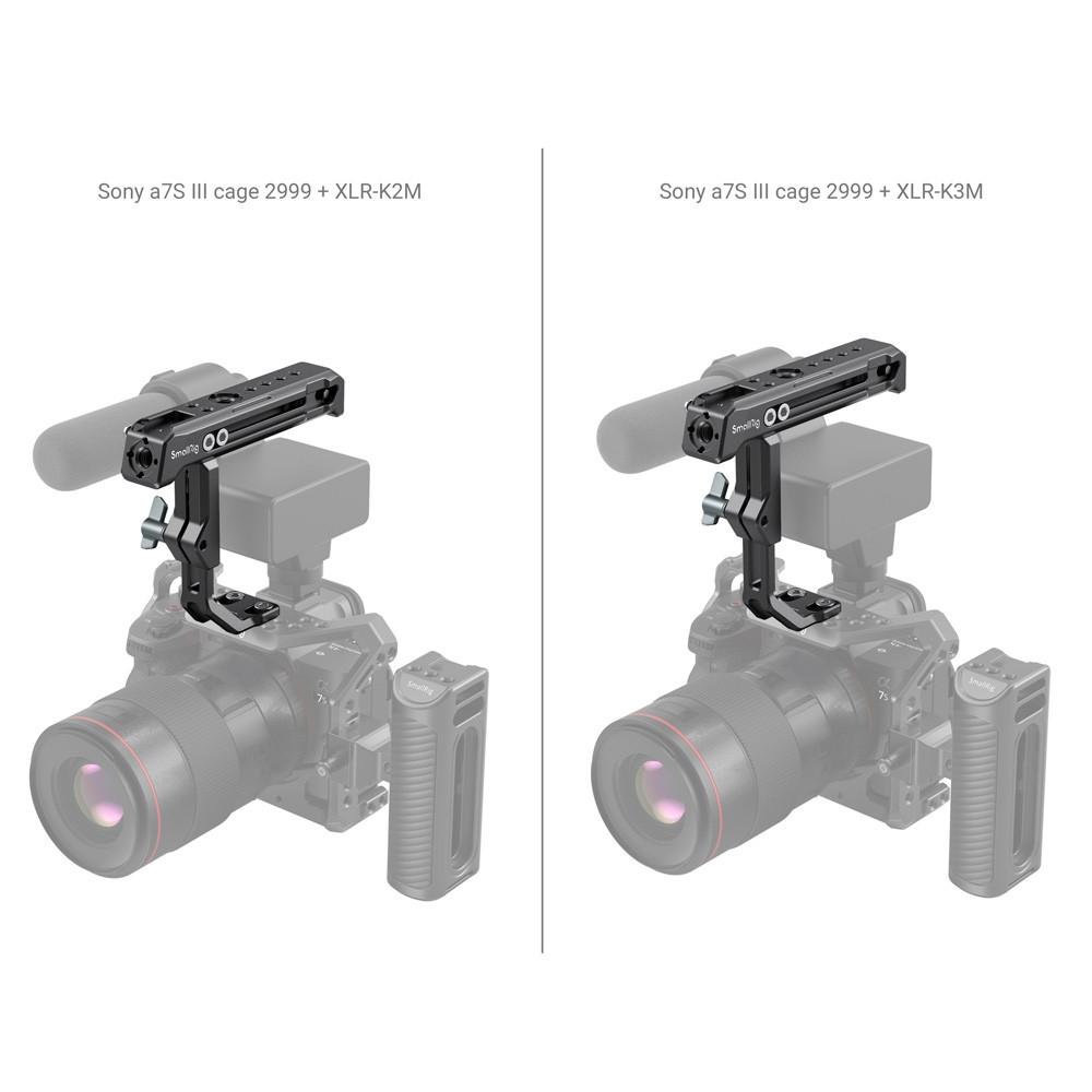 SmallRig Top Handle for Sony XLR-K1M / K2M / K3M and Panasonic DMW-XLR1 Adapter 3082