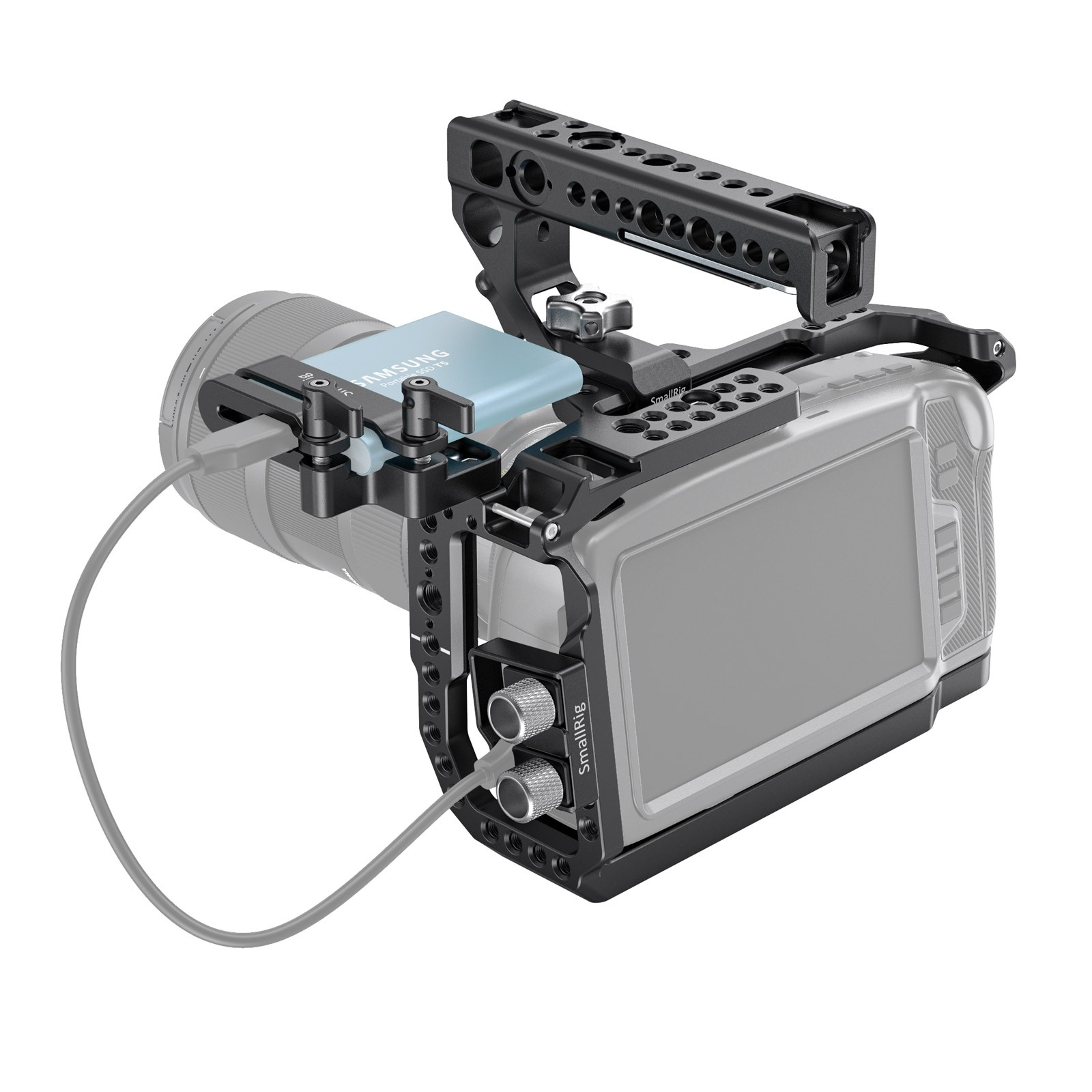 SmallRig Cage and Top Handle Kit for Blackmagic 4k & 6k 3130