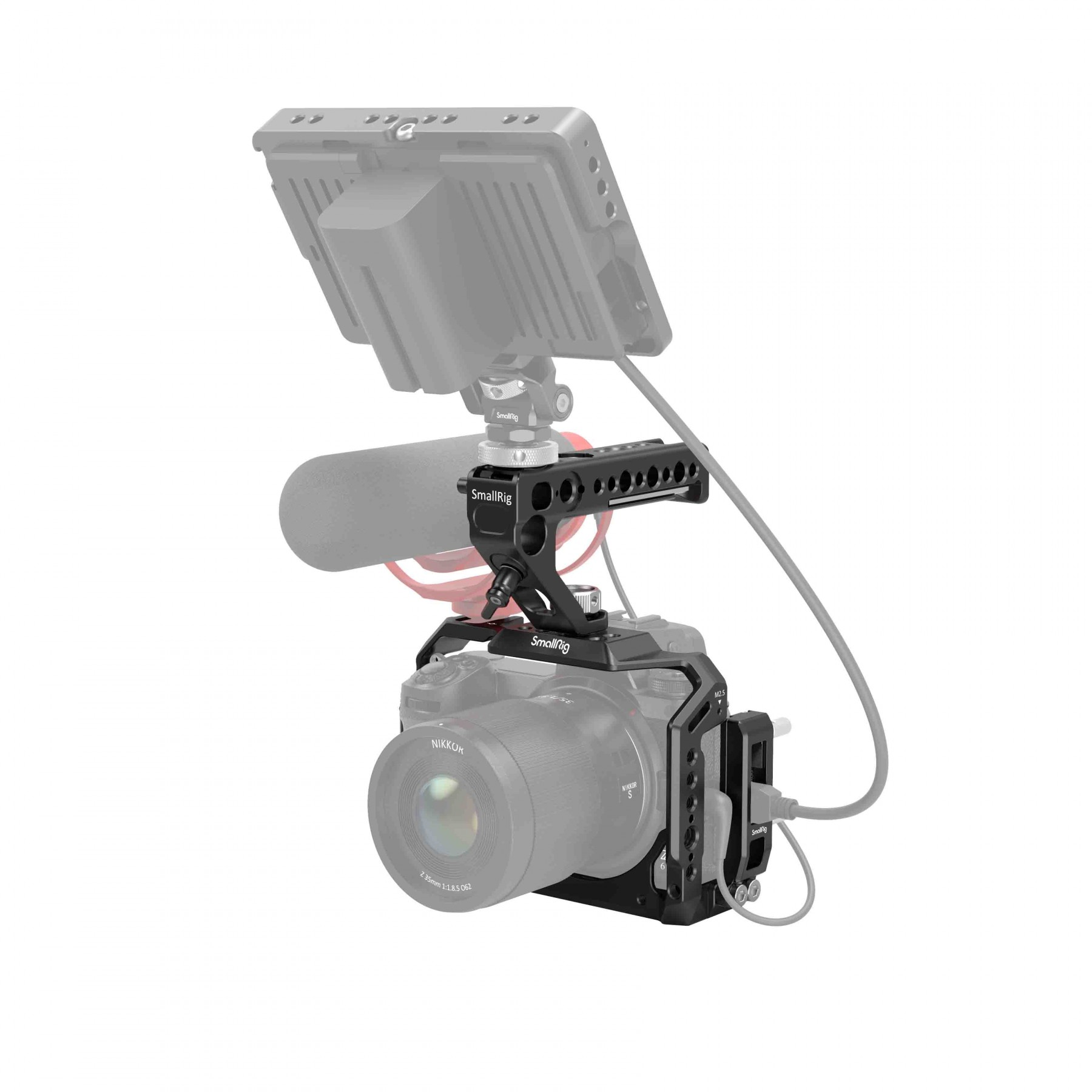 SmallRig Camera Cage and Top Handle Kit for NIKON Z5/Z6/Z7/Z6II/Z7II 3135