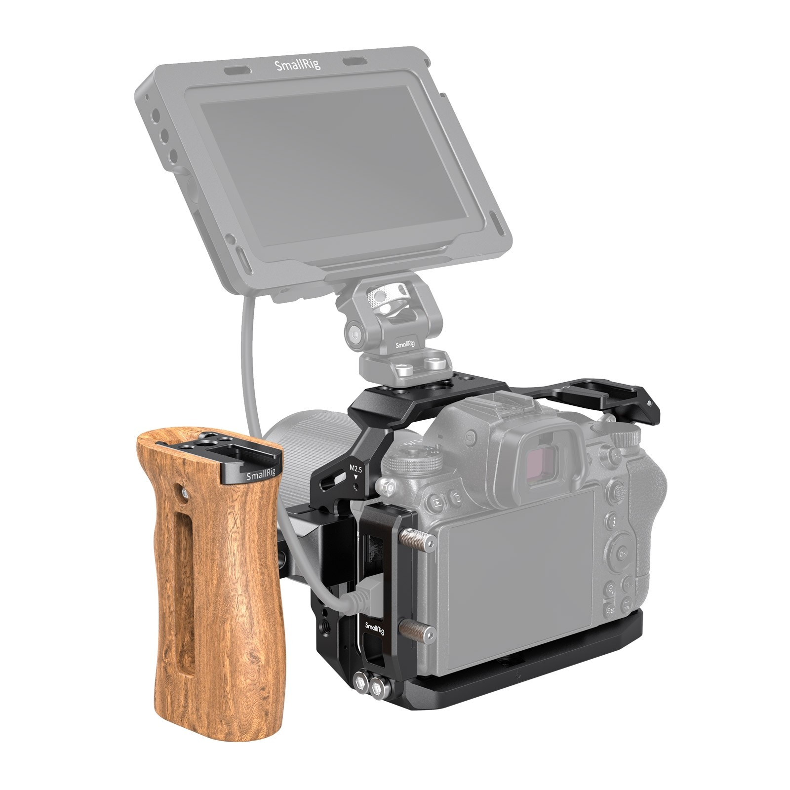 SmallRig Camera Cage and Side Handle Kit for Nikon Z5/6/7/Z6II/Z7II 3142
