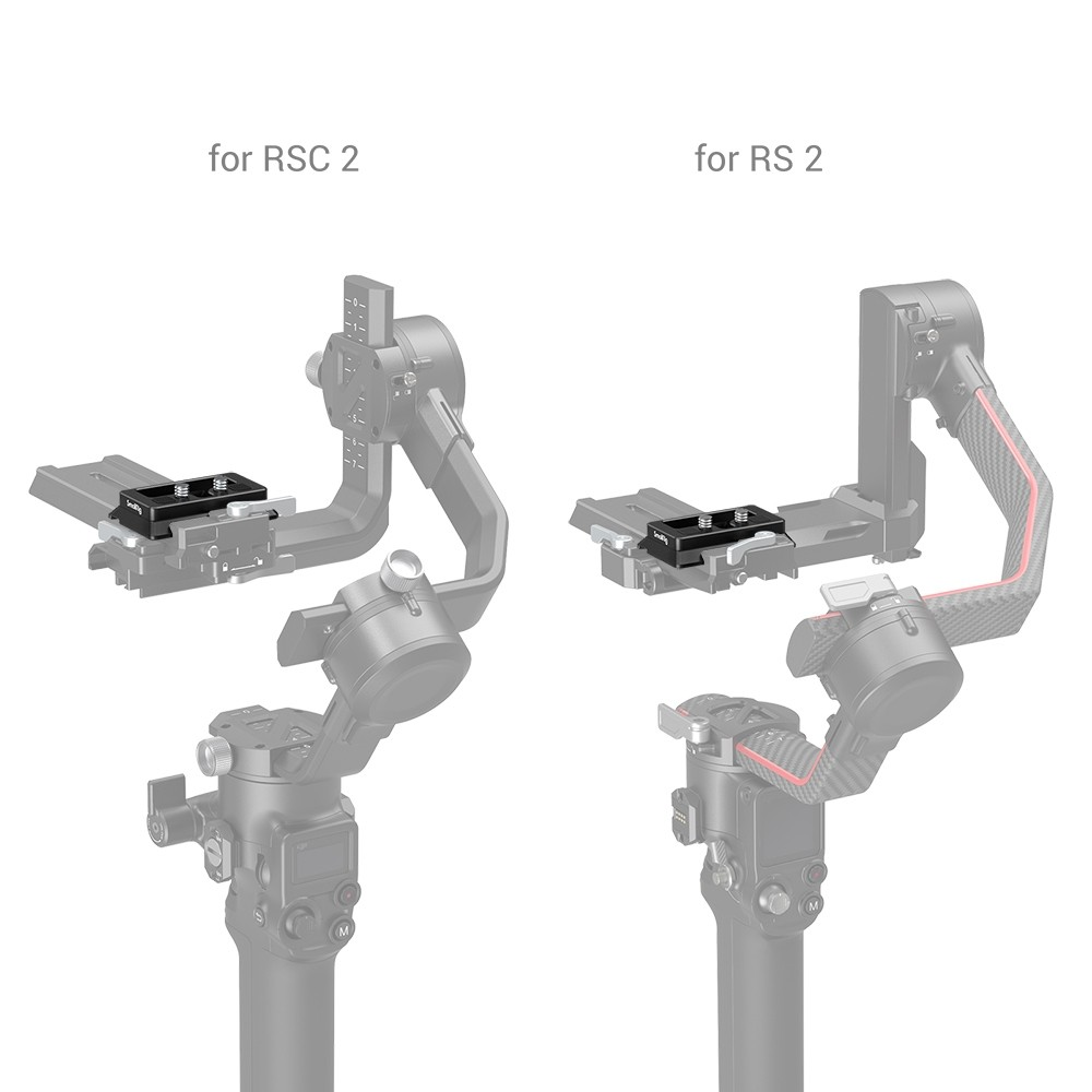SmallRig Arca-Type Quick Release Plate for DJI RS 2 and RSC 2 Gimbal 3154