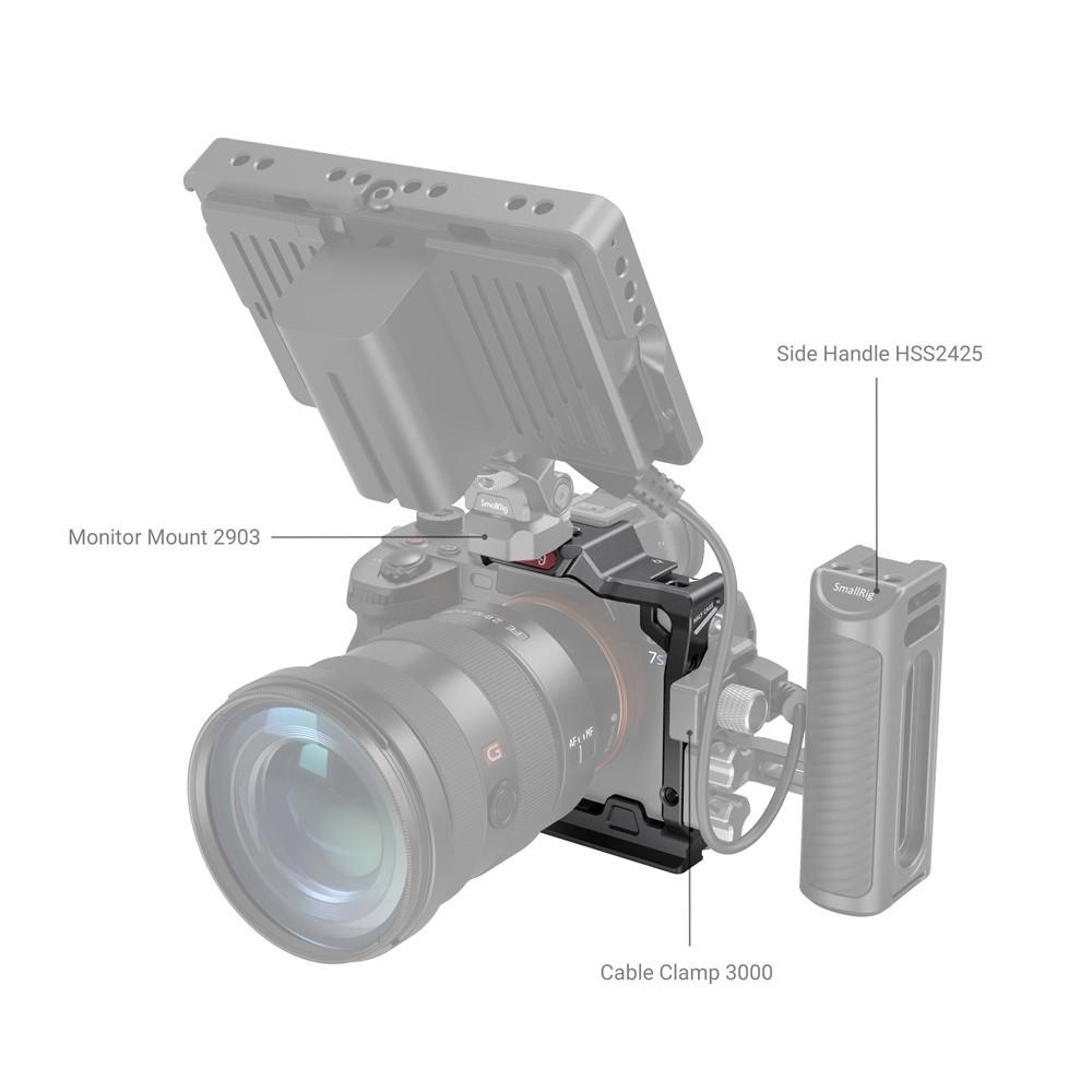 SmallRig Half Cage for Sony Alpha 7S III 3193