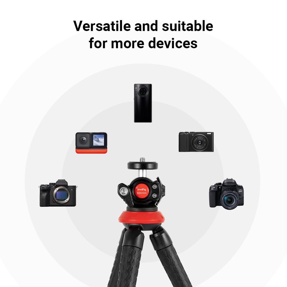 SmallRig Selection Portable Flexible Tripod DT-01 3255