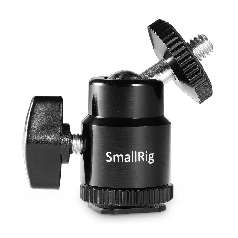 "SmallRig Cold Shoe to 1/4"" Threaded Adapter 761"