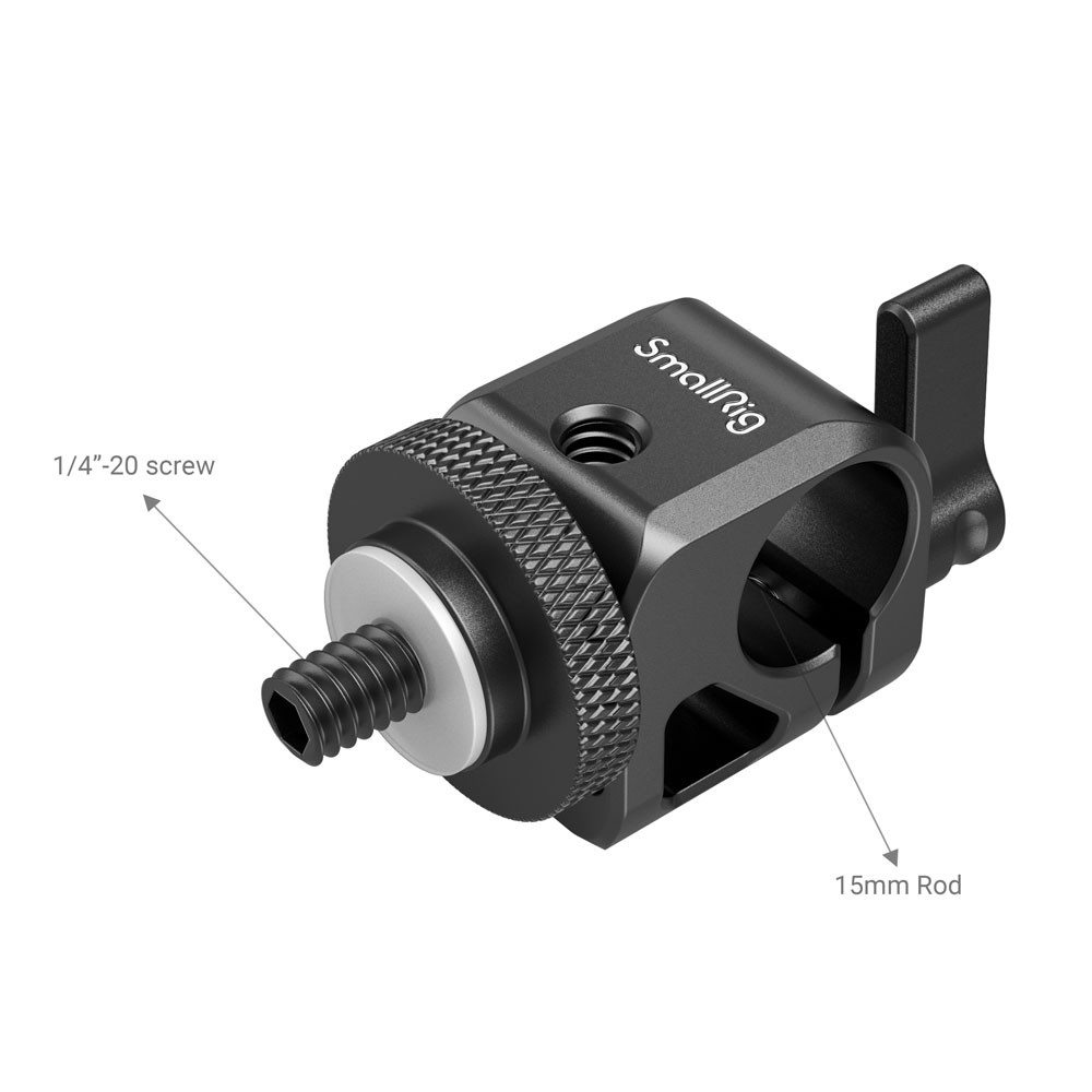 SmallRig Single RailBlock 860B