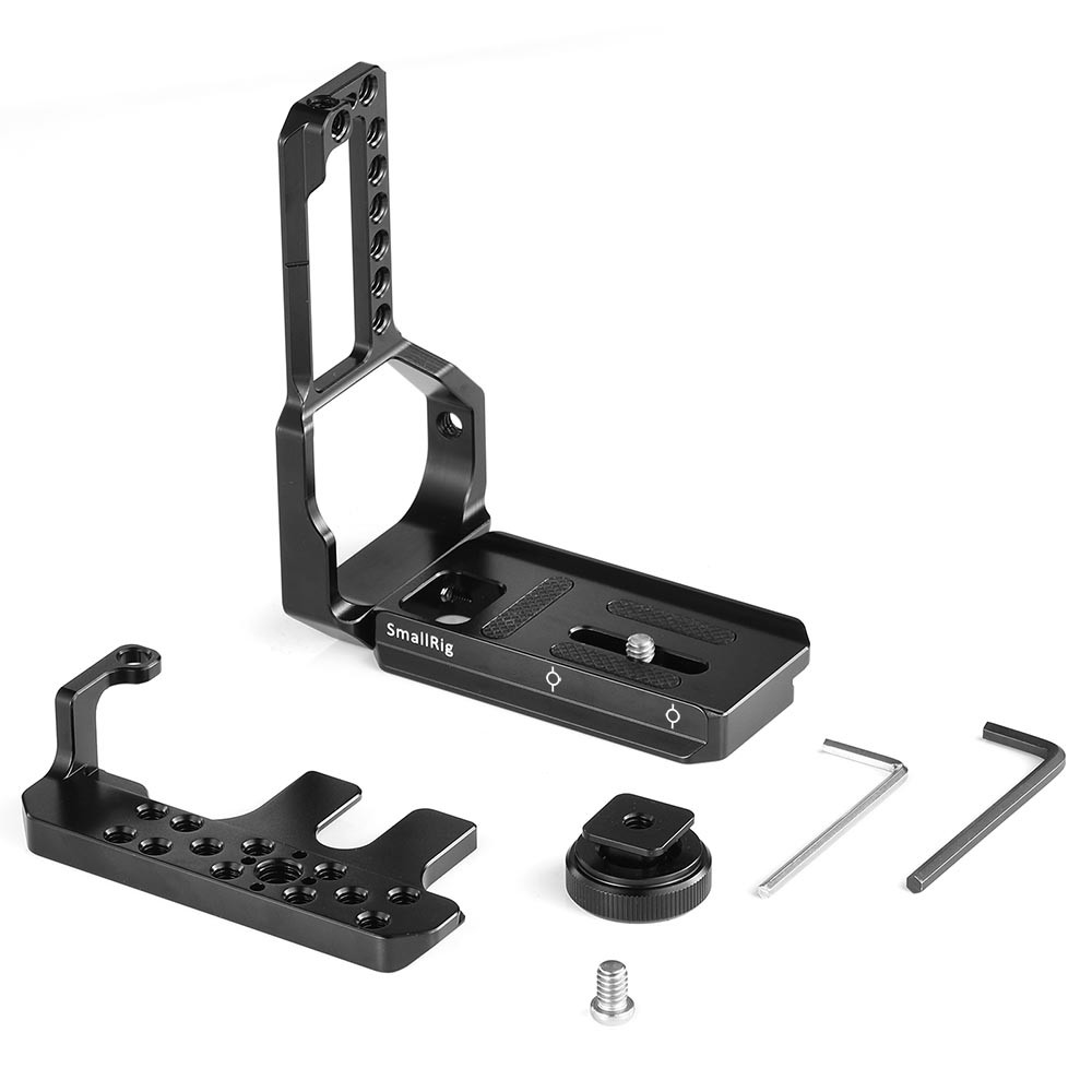 SmallRig L-Bracket Half Cage for Fujifilm X-T2/X-T3 Camera with Battery Grip APL2282