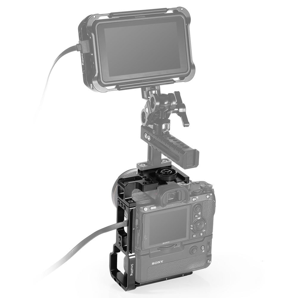 SmallRig L-Bracket for Sony A7III/A7RIII Camera and Battery Grip APL2341
