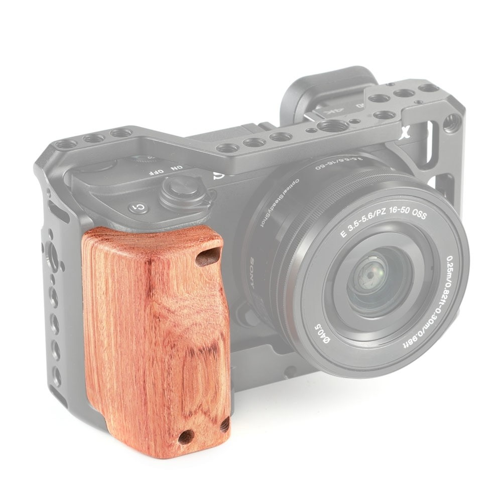 SmallRig Wooden Handgrip for Sony A6400 Cage APS2318