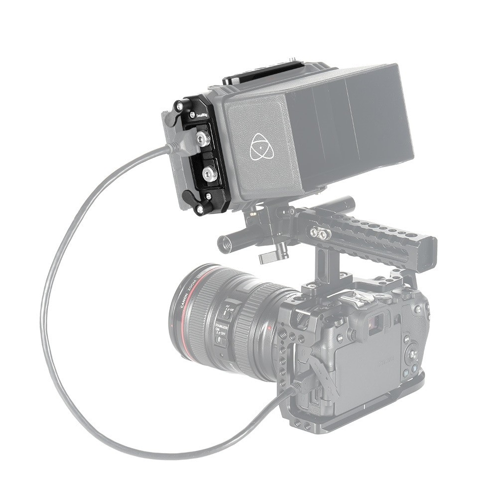 SmallRig Mounting Plates and HDMI Cable Clamp for Atomos Ninja V CMA2338