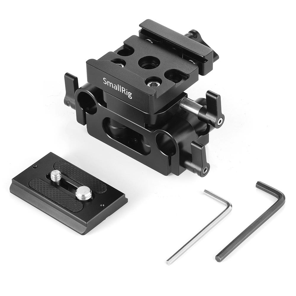 SmallRig Universal 15mm Rail Support System Baseplate DBC2272B