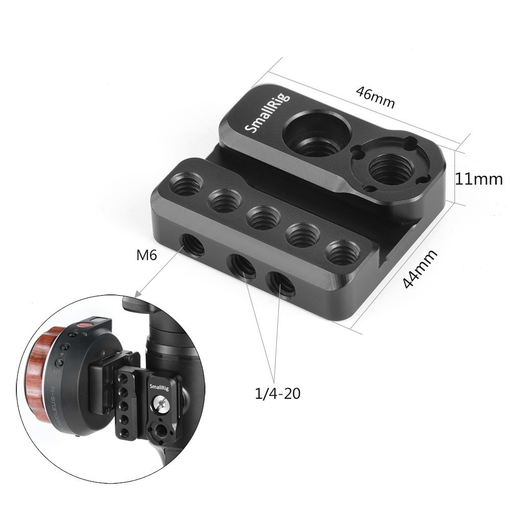 SmallRig Mounting Plate for Moza Air 2 Gimbal BSS2319