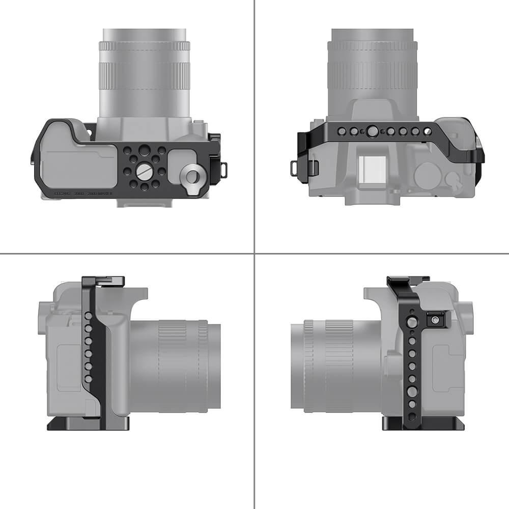SmallRig Cage for Canon EOS 200D Mark II/200D/EOS Rebel SL3/EOS Rebel SL2/EOS 250D/EOS Kiss X10/EOS Kiss X9 CCC2442