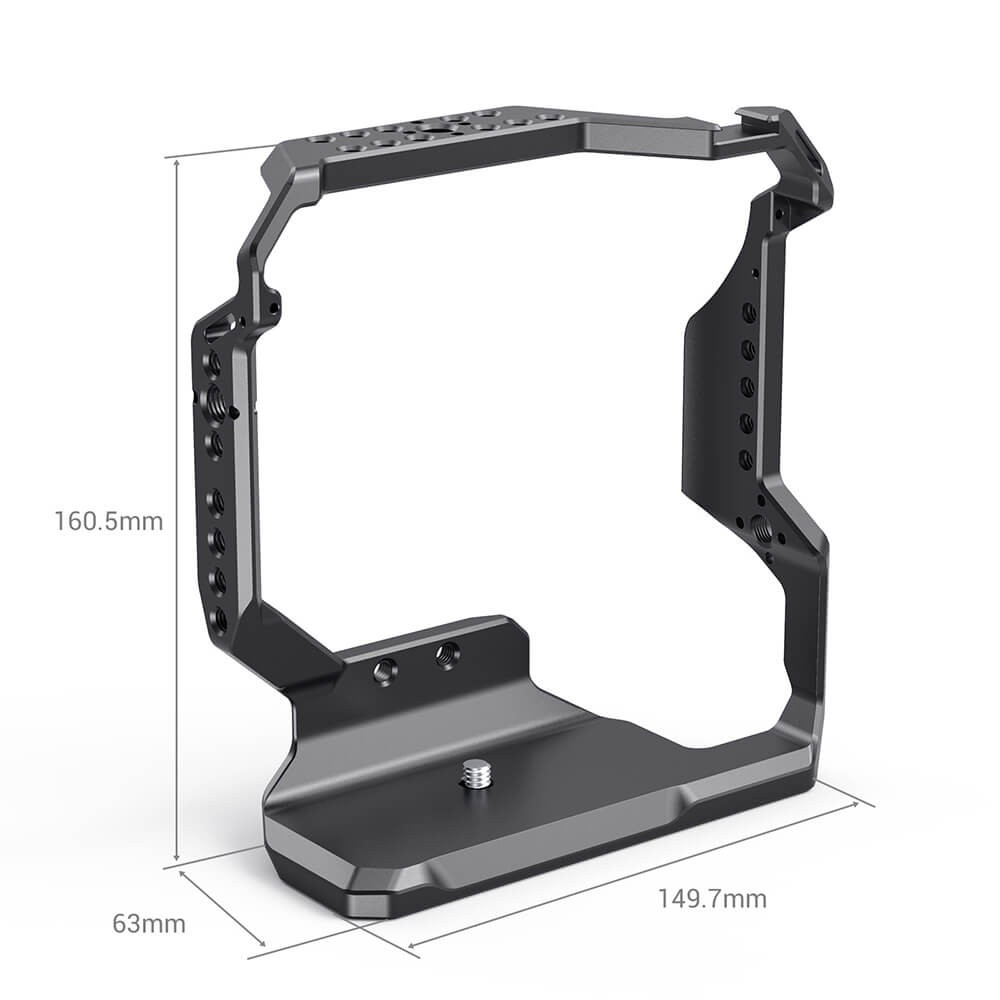 SmallRig Cage for FUJIFILM X-T4 with VG-XT4 Vertical Battery Grip CCF2810