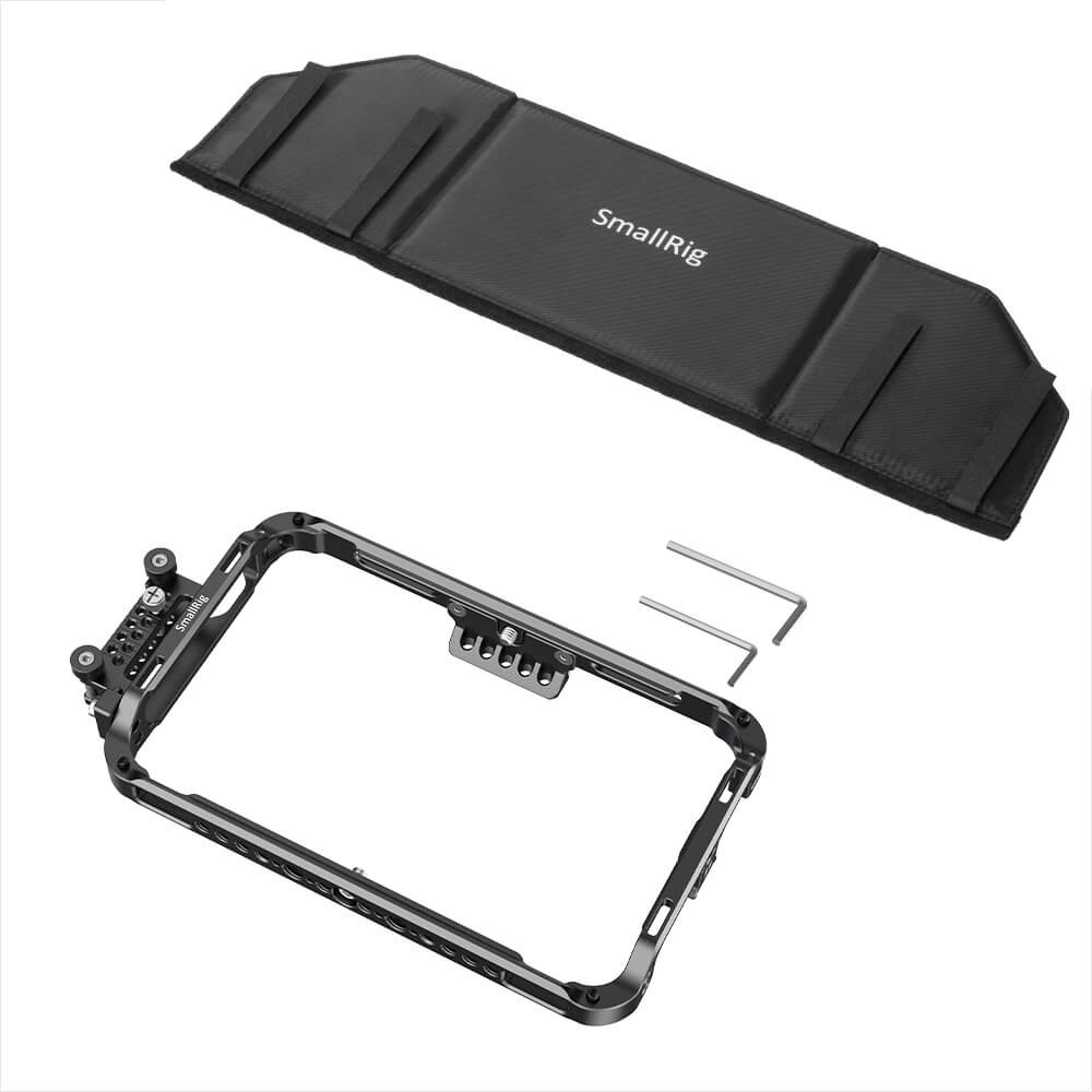 SmallRig Cage Kit and Sunhood for Atomos Shogun 7 CMA2409